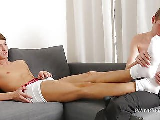 Twinks Tommy And Thomas Foot Fetish Fuck
