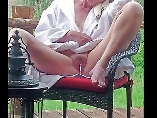 Having Fun With Hubby And Friend After Bath