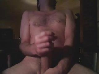 Quick Cumshot After Jerking Off