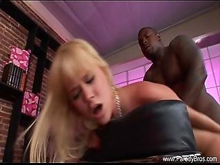 Blonde Milf Deep Interracial Anal Taboo
