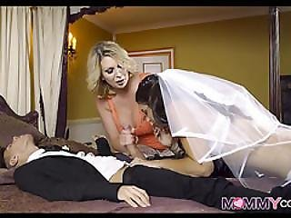 Bride To Be Gets One Last Cock