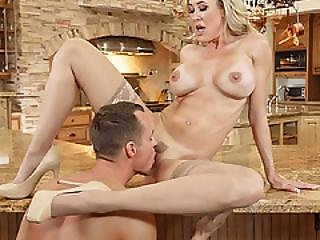 Brandi Love Needs Some Help In The Form Of A Fresh Young Cock To Keep Her Company