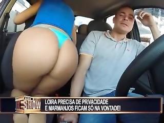 Slut Gets Fuck Hard In Taxi