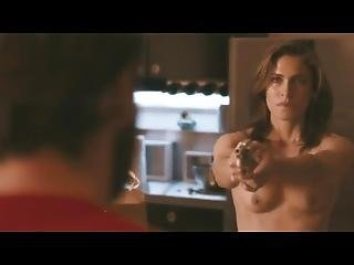 Full Frontal Trimmed Bush In Mainstream Movie Lili Bordan - Cherry 2010