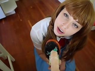 Asuka Tortures Your Dick During Third Impact!!!!