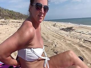 Get Some Sun On Those Tits!!