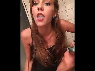 ametérské, fetiš, kouření, Mladý Holky