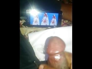 Masturbating My Cock With Actress Kajal