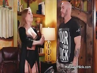 Britney Is The Newest Masseuse At This La Parlor And Her Boss Goes Undercover To Give Her Sweet Pussy A Spin Turns Out He Hired The Perfect Masseuse!
