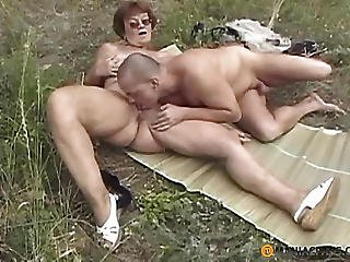 Young Boy Licking Pussy Old Aunt