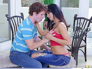 Shaggy-haired Paramour Gives Hawt Isis Love A Penetration In The Kitchen