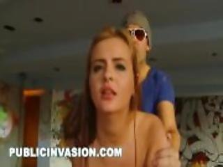 PUBLIC INVASION - The Sex Club featuring Russian PAWG Candy Alexa (pi11454)
