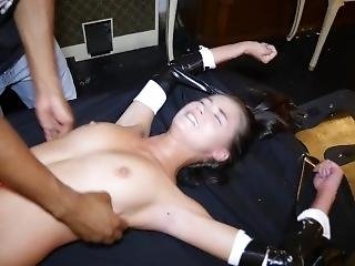 Carolina Sweets - 20yo Naked, Racked & Tickled Teen - First Time Tickled