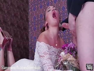 Hot Pawg Kat Monroe Gets A Brutal Gagging%2C Face Fucking Spit Flower Bouques