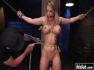 Cali Carter Needs To Suck A Fat Dick Before She Gets Fucked With It