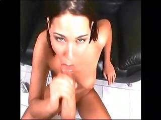 She Finishes It Off 2 - Cum In Mouth - Oral Creampie Compilation