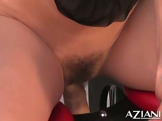Lexi Belle Goes Wild With A Rocker In The Garden
