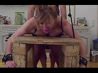 At The Bench Little Sunshine Milf Fucked Spanked And Pluged