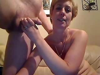 Aged Pair Exchanging Oral Pleasure Sex