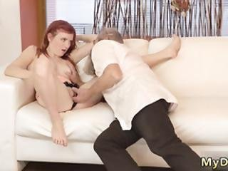 3d Old Man First Time Unexpected Experience With An