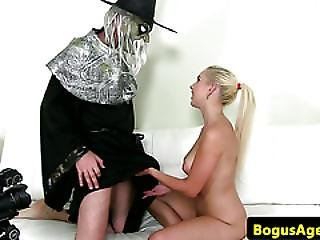 Real Casting Teenie Gets Banged By Fake Agent