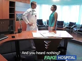 Fakehospital Patient Overhears Doctor Fucking Nurse Then Fucks Him Too