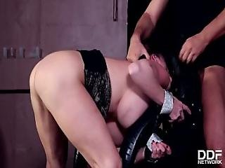 Cathy Heaven Gets Hard Bdsm Ass Fucking Treatment - Not Enough