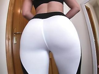 Big Ass Teen In Yoga Pants / Calvin Klein Thongs Ftw !! - Pov Hd