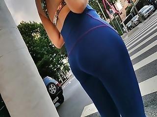 Hot Big Ass Legging Gym Yoga Candid