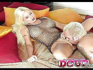 Curly Blonde Kelly Erickson In Doggy Style Fucking