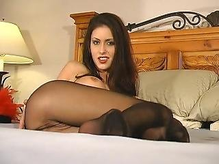 Jessica Jaymes Pantyhose Striptease 723