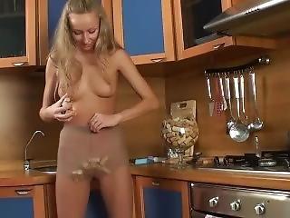 Fetish, Masturbazione, Mutandine, Collant