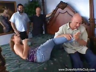 3some, Amateur, Anal, Ass, Couple, Cowgirl, Cream, Creampie, Cumshot, Facial, Hairy, Latina, Married, Milf, Redhead, Swingers, Threesome, Wife