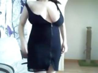 Super big nature boobs mom