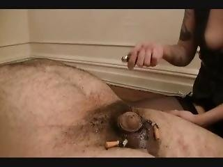 Cigarettes Burning Cock And Balls