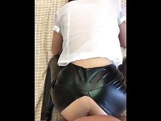 Fetish Anal Chinese Leather Jeans Teen