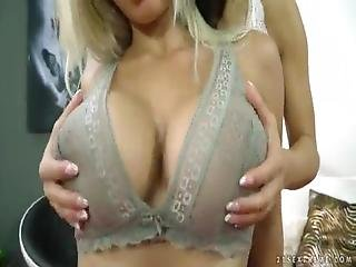 Fisting Lesson For Big Tits Blond