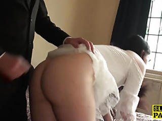Submissive Slut Spanked And Whipped Raw