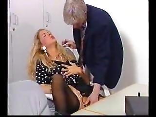 Blond Student Fucks A Teacher