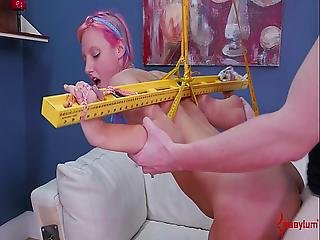 Rough Bondage Ass Fucking