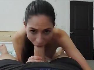 Brunette Gets Fucked In All Holes