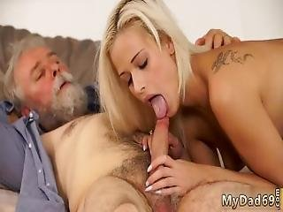 Daddy Foot Surprise Your Girlpal And She Will Bang With Your Dad