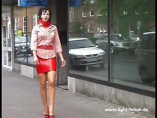 Lady Pantera - Latex, Leather, Corset & High Heels - 411