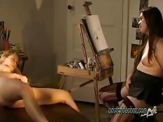Cate Art School 2 Real Wet Orgasm Finger Her Juicy Wet Pussy