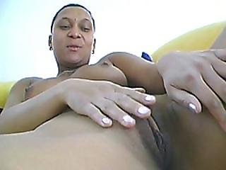 African Hottie Teases And Toys Her Pussy In Solo Video