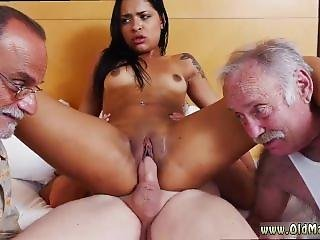 Old Young Brit And Old Granny Pussy And Old Pinoy And 2 Teens And Old Guy
