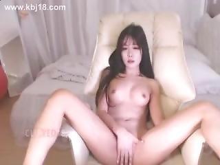 asiat, söt, koreansk, onani, webcam