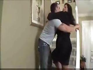 Drunk Son Gets His Cock Sucked By Mum