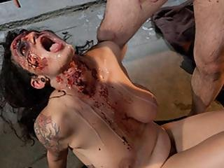 Evil Dead Orgy! Big Titted Zombies Fucked And Perkyed!