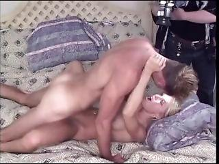 Blonde Fucking Missionary Asks For Cum Inside And Gets Creampied